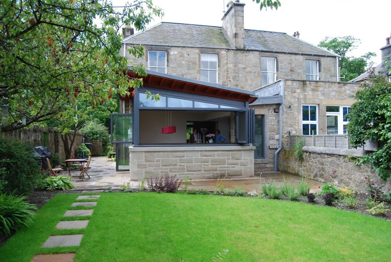 Edinburgh home extension front