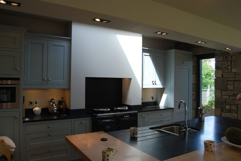 Edinburgh home extension kitchen