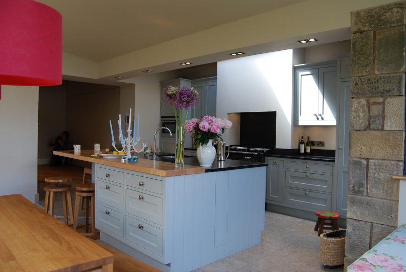 Edinburgh home extension dining room