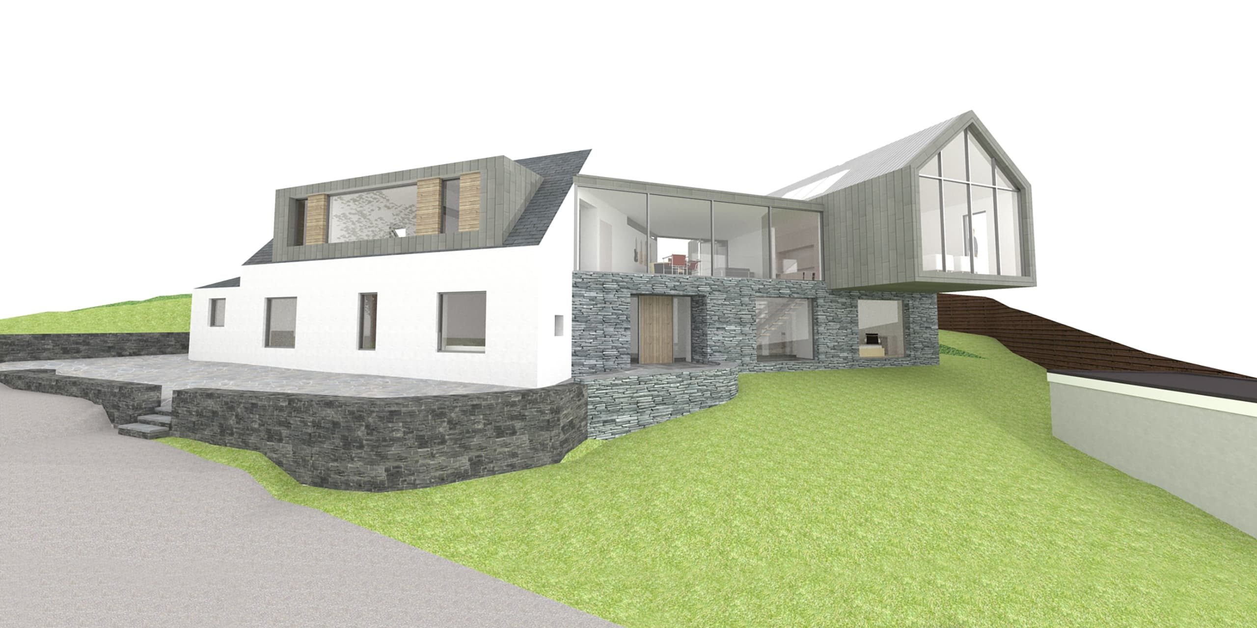 Flass Cottage Home Extension Fife