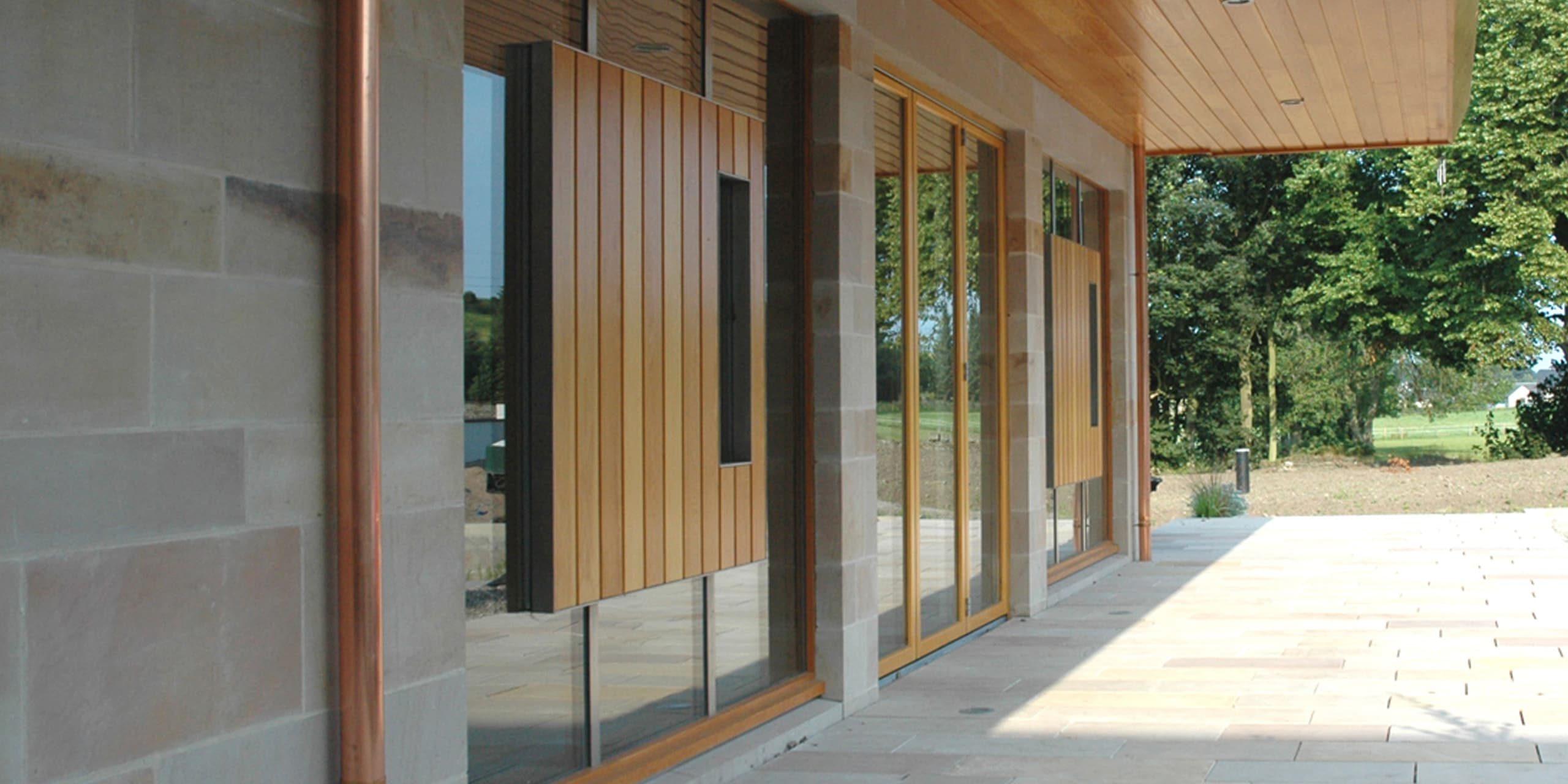 New Milne House Entrance